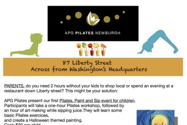 Kids' Pilates Paint and Sip copy