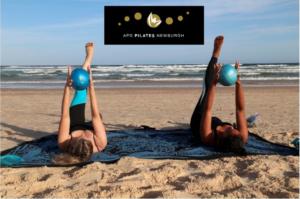 pilates at the beach